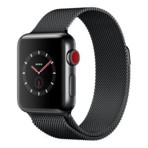 GPS+Cellular Space Black -black-milanese-38
